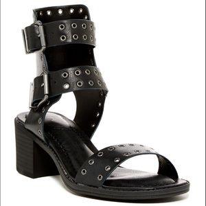 MIA Lisa Black Heel Sandal